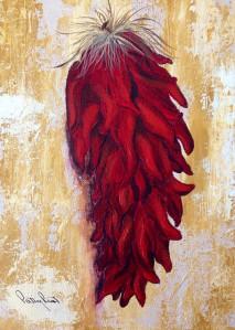 8x10, acrylic on canvas, 2014