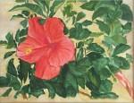 """L's Flower- 11""""x14"""", Watercolor 2016 - Unavailable"""